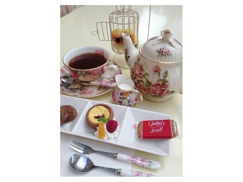 [奈良/生駒]在奈良的第一家小鳥屋咖啡廳喝茶!包括可選飲料和迷你甜點の紹介画像