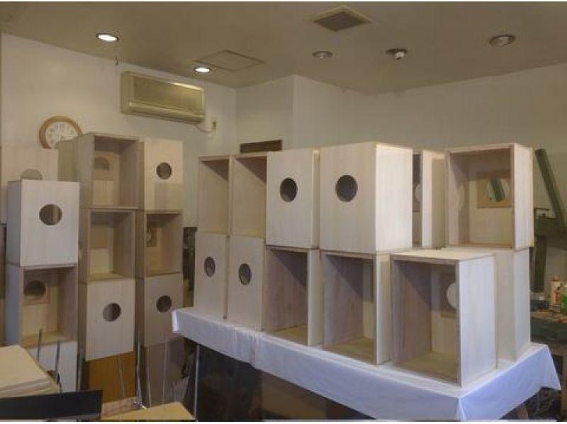 【宮城・石巻】木製打楽器「カホン」制作体験プランの紹介画像