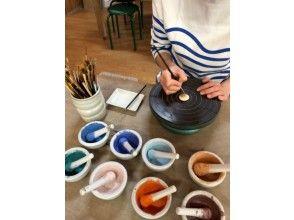 【鹿児島・日置】美山陶游館で「薩摩ボタン絵付け体験」手ぶらでOK!