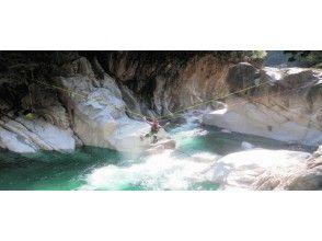 绳索峡谷漂流