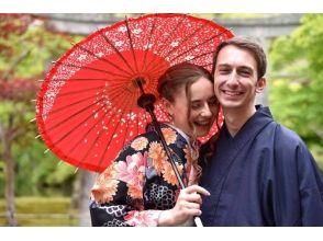 【京都・祇園】一日お手軽レンタル着物 ♪ カップル割引プランの画像