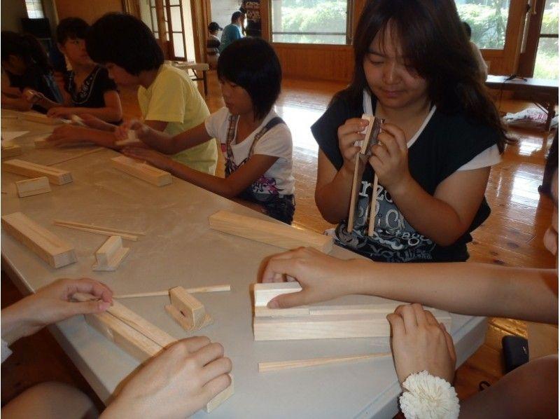 【Kumamoto · Aso】 Hinoki fragrant ★ Introduction picture of original chopstick making experience