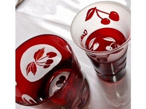 ~砂で削るガラスの彫刻~ オリジナル「ロンググラス」を作ってみませんか?