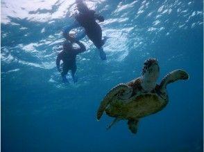 【沖縄・宮古島】15時スタート☆ ウミガメ珊瑚シュノーケリング & サンセットSUP・フォトツアー