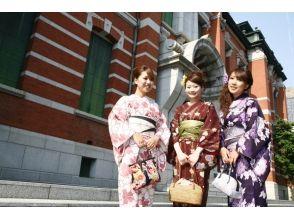 【京都・四条駅から徒歩3分・着物レンタル】大人気!あなたの好みで新作着物も選べるプラン