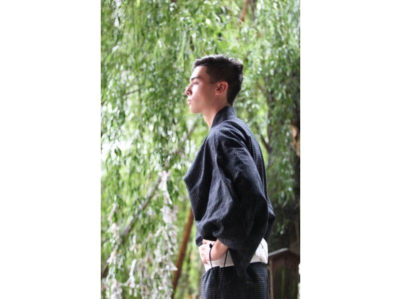 【京都・四条駅から徒歩3分・着物レンタル】男性も気軽に着物姿でお出掛けメンズプランの紹介画像