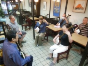 "【Hiroshima / Downtown】""Tour of Aki"" Japanese Music (Japanese musical instrument) ""Tsugaru-Shamisen"" Experience Cool Live & Lesson ♪"