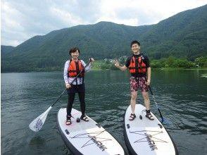 [Nagano ・ Kizaki Lake】 I can enjoy the floating feeling of fascination! SUP short course 80 minutes