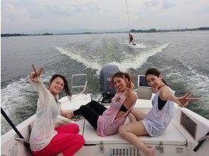 【滋賀・琵琶湖】みんなでウェイクボード体験!90分貸切※3名様まで!計18000円