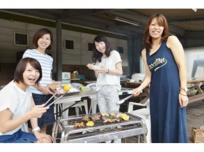 """【Gunma · Minakami】 """"Hydrospped & Hand BBQ Plan"""" BBQ on the terrace after Hydro Speed Tour"""