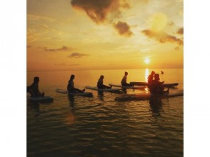 【Okinawa · Miyakojima】 Sunset · SUP Yoga ♪ Sunset in the sea of ​​Miyakojima and SUP Yoga ★ Beginner's big welcome ★ image