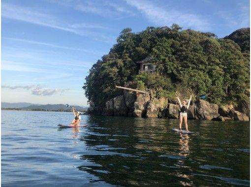 【滋賀・琵琶湖】びわ湖でSUP(サップ)半日体験スクール♪『びわ湖』で体験♪【初めての方、お一人様大歓迎!】