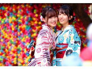 """京都四条和服出租""""高级和服计划""""最受欢迎![选择♪出租和穿衣从700起]"""