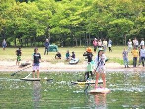 """[Shiga ทะเลสาบบิวะ] [หลักสูตรนิยม] 1 วันอย่างรอบคอบโรงเรียน SUP ♪ประเทศญี่ปุ่นที่มีทะเลสาบขนาดใหญ่ """"ทะเลสาบบิวะ"""""""