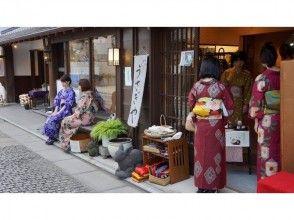 【栃木・足利】着物(単衣)着付け体験プラン(90分自由散策)の画像