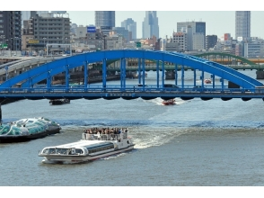 Visit to Tsukiji Market and Sumida River Cruise & Walking Both Countries and Sumida Hokusai Museum Visit 【10238】