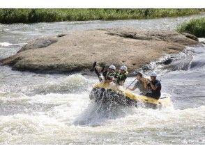 [Tohoku / Yamagata] Asahi Town / Mogami River Rafting Standard Course ☆ Photo data is free! With hot spring bathing ticket!