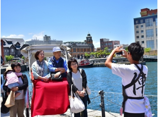 【福岡・北九州市】じっくり門司港を巡る★人力車で観光ガイドツアー(60分貸切コース)