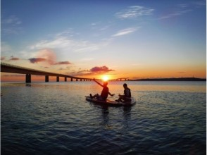 [Okinawa / Miyakojima] Sunset sap. Beginners, welcome, safe and comfortable with small boats running side by side! ️ Free waterproof camera rental.
