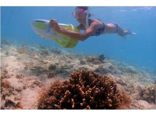 【沖縄・宮古島・割引実施中】スクーターで潜水!シュノーケリング体験♪アクションカメラ無料レンタルあり