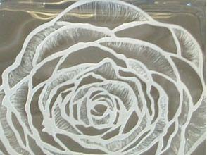 【栃木県・さくら市】グラスリッツェン体験!自分だけの彫刻ガラスを作ってみませんか?の画像