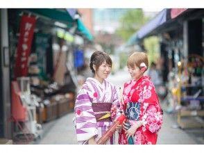 【長野・松本・浴衣・着物レンタル】フリーレンタルコース!松本の城下町をゆったり散策♪の画像