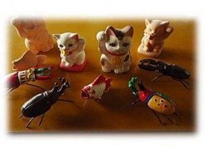 [熊本/南阿苏] 3岁以上的经验!给未上釉的召唤猫,甲虫,鹿角甲等上色的经验。