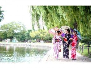 【長野・松本・浴衣・着物レンタル】翌日返却コース!松本の城下町をゆったり散策♪の画像