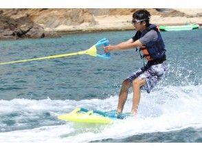 【沖縄・名護】ザップボード 大人から子供まで超簡単ウェイクボードが登場!!ジュゴンの見える丘にGOの画像