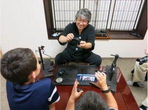 【奈良・奈良市】生の墨を手で握って作るにぎり墨体験!古墨のお土産付きプラン