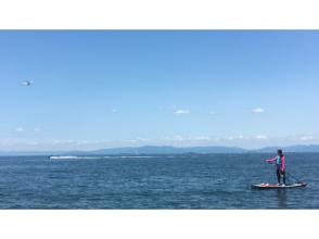 【 Aichi / Tokoname / Taya coast】 Walking on the sea while watching the plane · Beginner welcome ♪ SUP cruising experience! !