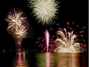 Yokohama Helicopter Experience & Taxi Drive & Yokohama Sparkling Twilight Fireworks Viewing Cruise 【10243】