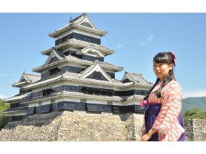 【 Nagano · Matsumoto · Hakama Rental 】 2-hour rental course! 2 minutes away from Matsumoto Castle!