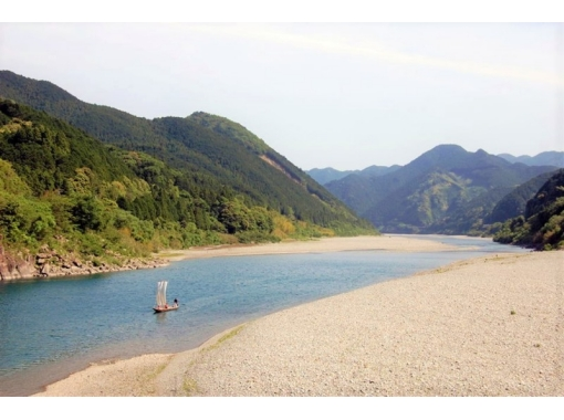 【三重・熊野川・川下り】世界遺産「川の参詣道」三反帆で熊野川を下る【午前・午後コース】