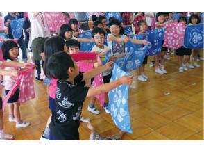 【愛知県・名古屋市】有松工芸で絞り体験!オリジナル「テーブルセンター」製作プランの画像
