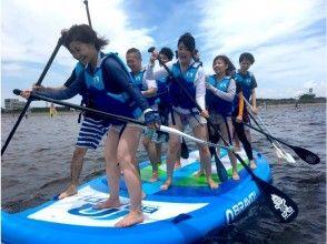 【千葉・幕張】検見川浜でBigSUP(半日コース)★家族と、会社の仲間と大人数で楽しもう★