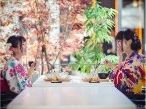 [湘南鎌倉,和服出租]從鎌倉站步行2分鐘!花費在鎌倉優雅的時間×法式午餐!