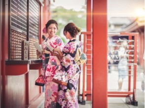 您可以從[鎌倉和服的1000個租賃湘南總數選擇!從鎌倉站步行2分鐘!努力探索鎌倉古都