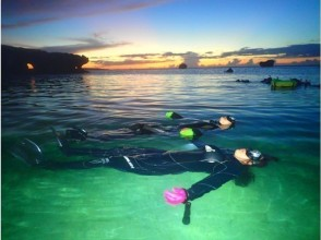 【Okinawa · Starry Sky & Night Ranch Night Snorkel】 It is a blue cave charter ♪ Photo & Video Free ♪ Okinawa People Guide ♪