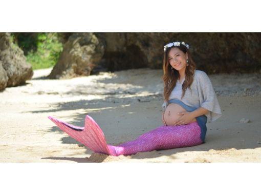 【沖縄・うるま市・浜比嘉ビーチ】憧れのマーメイドになろう♪フォト撮影プラン