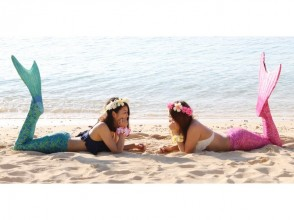 【Okinawa · Uruma City · Hama Hika Beach】 Mermaid Photos & All-you-can-eat plans ♪