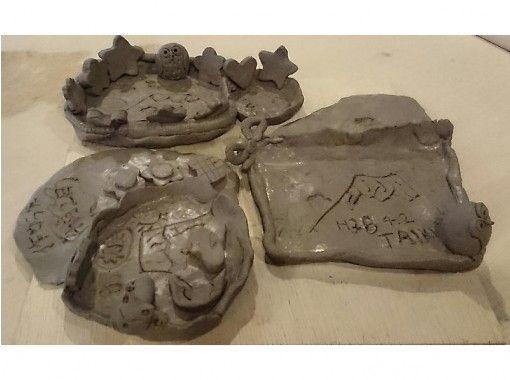 【山梨・河口湖・陶芸体験】手びねりでお皿やコップを作ろう!
