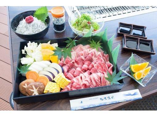 【Wakayama City · Kota】 BBQ with hands! BBQ & natural hot spring bath set plan plenty of plenty!の紹介画像