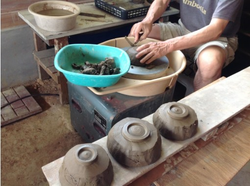 【福岡・八木山】オススメ!手びねりで自由に作陶!じっくり90分!2~3個作れます!