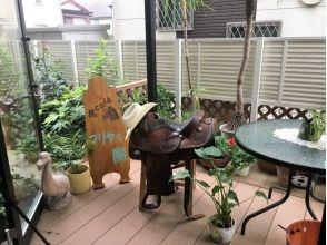 【東京・日野】BBQとセットでお得な乗馬体験 ♪(BBQ2時間+乗馬2時間+TeaTime1時間)の画像