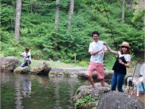 【長野・松本・美ヶ原】道具一切不要!!釣り堀で岩魚釣りプラン