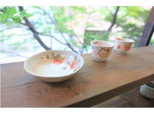 [愛知/名古屋]☆陶瓷畫經驗☆您可以從5種商品中選擇!感官歡迎一個人! 〜の紹介画像