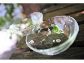 [Tokyo Ginza] Sandblast glass craft experience ☆ Fashionable life starting from manufacturing ♪