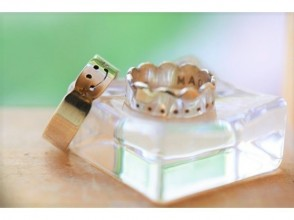 【Aichi ☆ Nagoya Sakae station pre-engraving experience one day】 sense up lecture ☆ Let's make a simple and attractive silver ring! Image of