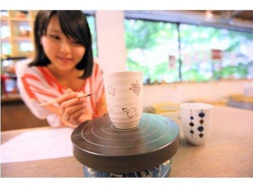 【東京☆新橋駅歩5分】5つのアイテムの中から選べる 楽しいセンスup ☆陶芸絵付け一日体験